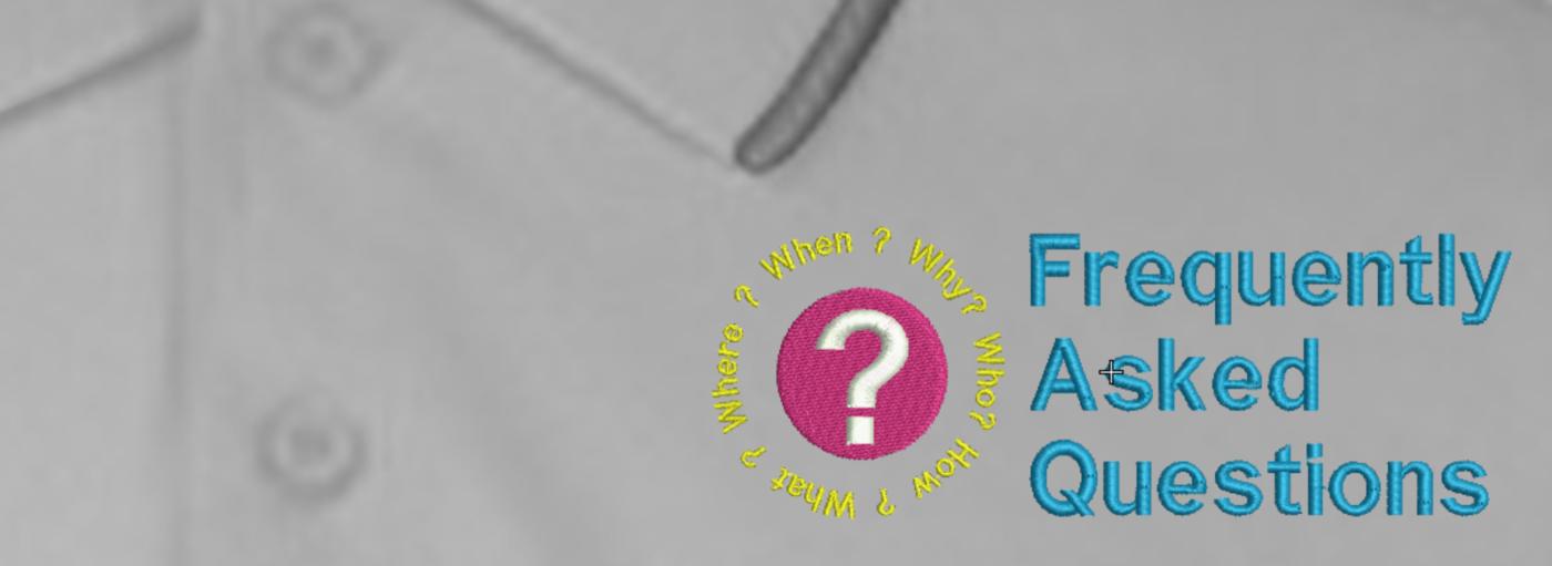 Embrodiery FAQ