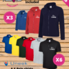 Sole trader, team and tradesmen embroidered Fleece Jacket and embroidered Polo Shirt discounted bundle